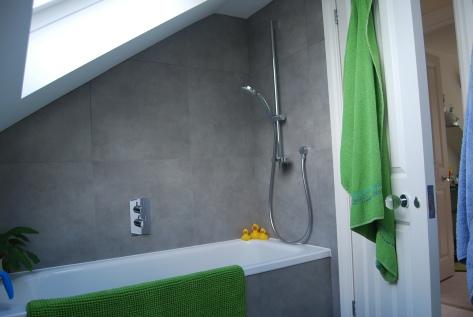 Bathroom in a loft conversion